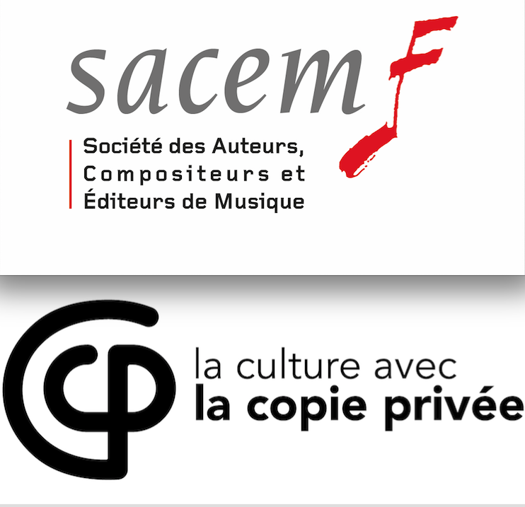 SACEM+copie privée